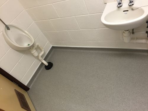 bathroom safety flooring non slip vinyl flooring for bathrooms my web value 11235